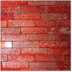 Luxury-8 Ruby Red Decor Travertono